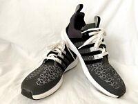 Adidas Men's SL Loop Runner Graphite Woven Textile & Black Running Shoe Size 13