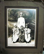INDIA RARE VINTAGE - PHOTOGRAPH OF CHILDREN'S IN THERE TRADITIONAL DRESSES