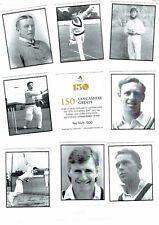cricket memorablia trade cards lancashire