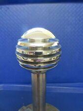 "NEW Hyundai Polished Aluminium 5 Grooved Orb Gear Knob , 50mm / 2"" Diameter"