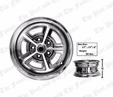 Magnum Alloy Wheel 15x7 Chrome w/ Center Cap + Decal 0 Offset UNWH-10