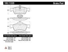 Disc Brake Pad Set fits 2005-2017 Mercedes-Benz G55 AMG R350 ML350  CENTRIC PART