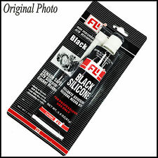 BLACK RTV SILICONE GASKET MAKER SEALANT FLEXIBLE DURABLE RESISTS OIL WATER