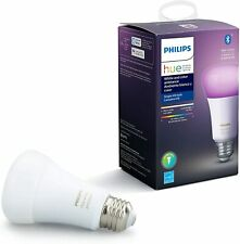Philips Hue White and Color Ambience A19 RGB Smart Zwave Bluetooth Bulb