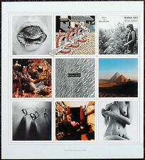 PINK FLOYD POSTER PAGE 1973 A NICE PAIR LP ALBUM COVER ART . M33
