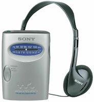 Sony SRF-59 FM/AM Analogue Personal Portable Radio - Silver