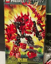 LEGO Hero Factory Complete Red Xplode 7147 Bionicle