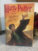 Harry Potter and the Deathly Hallows by J. K. Rowling (2007) NEW 1st/1st