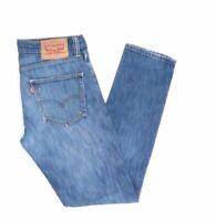 Levi's Levis Jeans 511 W31 L32 blau stonewashed 31/32 Straight -JA9243