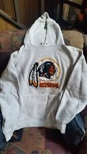 Vintage 1990's Original Nutmeg Mills NFL Licensed Washington Redskins Hooded Swe