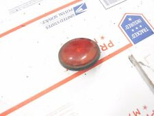 1980 YAMAHA 250 Enticer snowmobile parts: ONE BOLT ON RED REFLECTOR