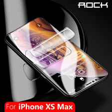 For Apple iPhone X XS MAX XR Genuine ROCK HYDROGEL AQUA FLEX Screen Protector