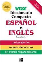 Vox Diccionario Compacto Español e Ingles by Vox Staff (2007, Paperback)