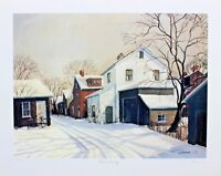 Trisha Romance Signed Numbered Limited Edition Quiet Morning 1975