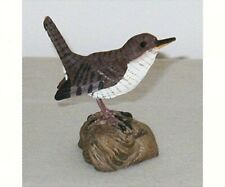 Poly  resin decorative bird  Table Piece - WREN  - FWC133