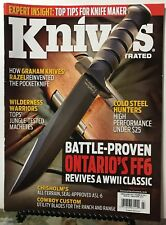 Knives Illustrated Ontario FF6 WWII Classic March/April 2015 FREE SHIPPING JB