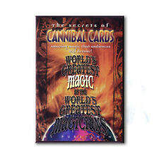 CANNIBAL CARDS WORLD'S GREATEST MAGIC BY L&L PUBLISHING DVD - MAGIC TRICKS