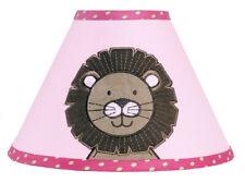 Sweet Jojo Designs Lamp Shade for Jungle Friends Animal Safari Baby Kid Bedding