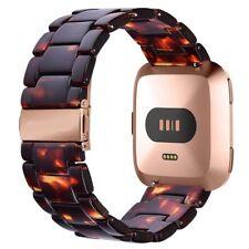 For Fitbit Versa Bracelet Band Fashion Resin Strap Tortoise Wristband Adjustable