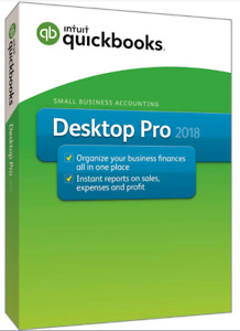 QuickBooks Desktop Pro 2018 , Lifetime License✅ 80%OFF ✅ 5 USERS .