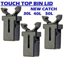 3x plastic buckle clip catch retainer catch clamp holder kitchen bin lid touch