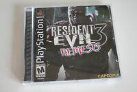Resident Evil 3 Nemesis US VERSION - Playstation 1 PS1 - Capcom 1999