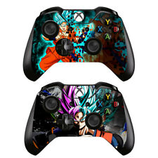2 Pack Xbox One Controllers Remote Vinyl Skin Decals Stickers Dragon Ball Z Goku
