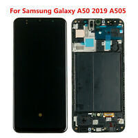 Touch Screen Digitizer Assembly LCD Display For Samsung Galaxy A50 A505F/FD/DS