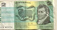 Reserve Bank of Australia 1966 2 Dollars Coombs/Wilson Note