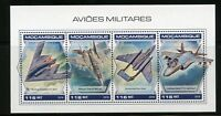 MOZAMBIQUE 2018 MILITARY AIRCRAFT  SHEET MINT NH