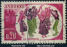 ANDORRE FRANCAIS N° 166 AVEC OBLITERATION