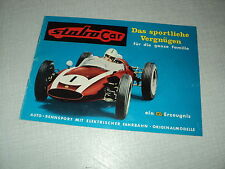 CATALOGUE STABO CAR AUTO RENNSPORT 12 PAGES FERRARI  LOTUS BRM PORSCHE