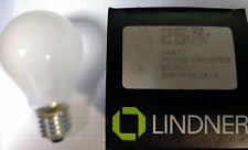 Lindner 3 Stück Glühbirne 110 Volt 25 Watt matt E27