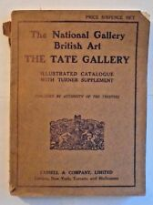 The National Gallery British Art The Tate Gallery  1909  Catalogue