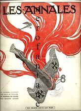 1a Guerra-Les annales: Un Drame dans l'aire-Aviazione 1916