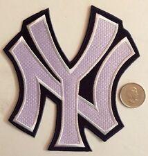 "New York Yankees MLB Logo Patch SewOn Glue On 4.9""x5.5""inch"