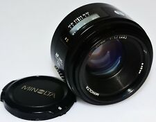 SONY MINOLTA 50MM F1.7 AUTO FOCUS LENS for a55,65.99FULL & APSC.**MADE IN JAPAN