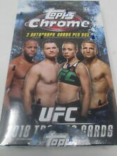 2018 TOPPS CHROME UFC HOBBY BOX!