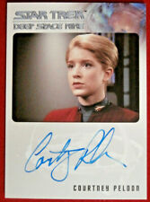 STAR TREK DEEP SPACE NINE - COURTNEY PELDON AUTOGRAPH CARD - Rittenhouse 2017