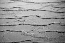 "Fountain Water Detail, Hyde Park, London, England, 12"" x 18"" BW Matte Print"