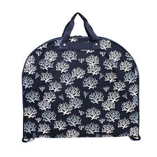 NEW HANGING GARMENT BAG CHEER DANCE TRAVEL LUGGAGE TOTE  BLUE  SEAWEED SUITCASE
