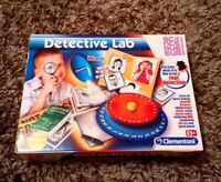 CLEMENTONI DETECTIVE LAB DISCOVER WHAT A REAL DETECTIVE DOES NEW SCIENCE MUSEUM