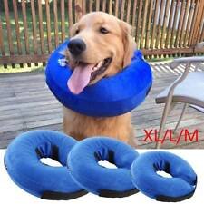 Inflatable Collar Dog Cat E-Collar Pet Puppy Medical Protection Head Cone