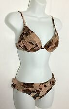 NEW SHAN Passion Underwire 2 Piece Bikini Swimsuit Size 8 BC Retail $280