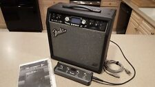 FENDER G-DEC 30 GUITAR AMP WITH INSTRUMENT LOOPS With FOOT SWITCH - RARE!