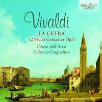 FEDERICO L'ARTE DELL'ARCO/GUGLIELMO - LA CETRA-12 VIOLINKONZERTE OP.9  2 CD NEU