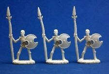 Reaper Bones 77001 Skeletal Spearmen (3)