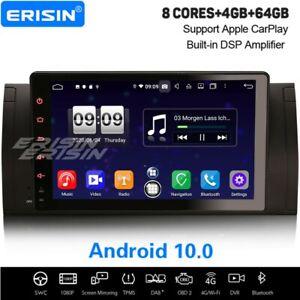 "9"" 8-Core Android 10.0 DSP Autoradio CarPlay DAB+Navi WiFi BMW 5er E39 X5 E53 M5"