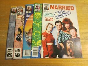 Married...With Children Lot of 5 NOW Comic Books Al, Peggy, Bud, Kelly, Buck