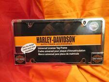 Harley-Davidson License Plate Tag Frame Harley Bar & Shield Logo 2007 For Autos